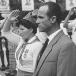Директор лагеря Лоо Гамалея М.В. и Гоголева В.Е.