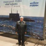 """Закладка подводной лодки """"Магадан"""""""